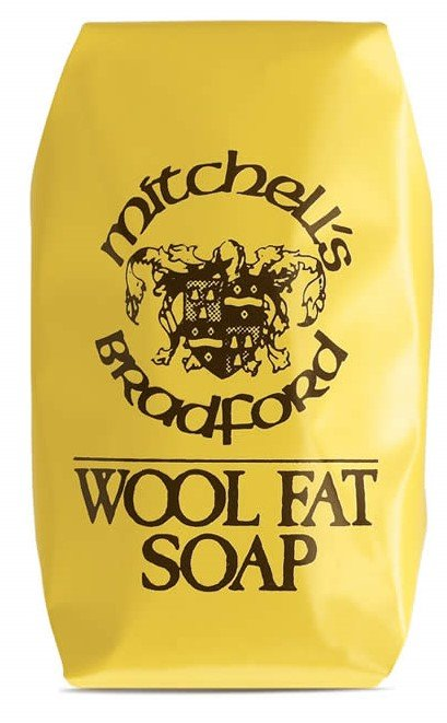Mitchells Wool Fat Soap Original packaging