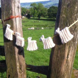 Sheep Bunting Kit