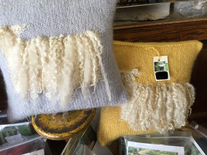 Wensleydale Sheep Cushion Kit