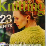 Lime Bitters Knitwear pattern in Knitting magazine