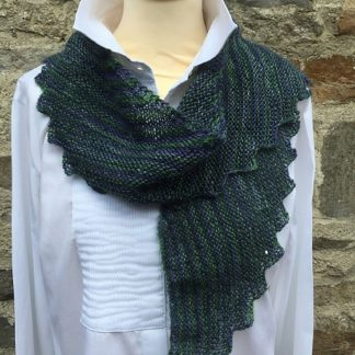 Wensleydale 4 ply scarf