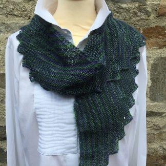 Wensleydale 4 ply scarf