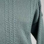 Wensleydale hand knit garment