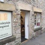 Wensleydale Longwool Sheep Shop outside