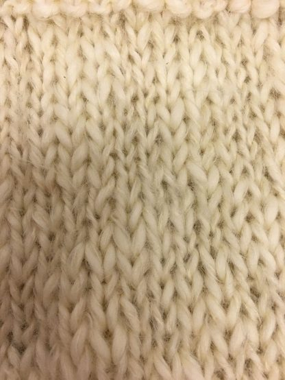 Mohair yarn knit close up
