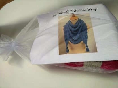 Wensleydale Bobble Wrap Knitting Kit