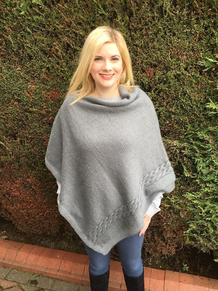 Wensleydale Poncho - front