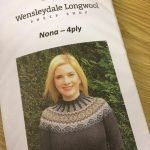 Wensleydale Nona 4 Ply Jumper kit pattern