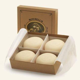 Mitchells Presentation gift box - 4-Kraft soaps