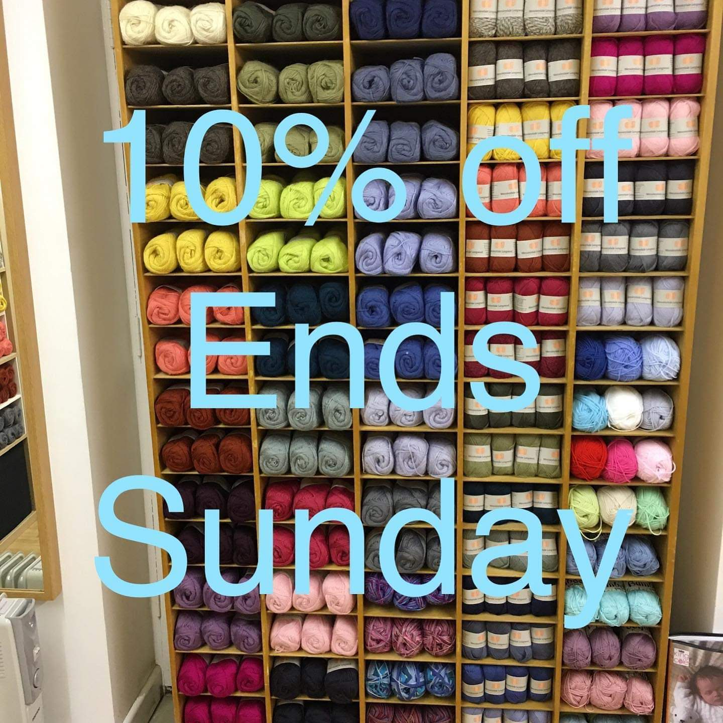 Wool Sale ends Sunday