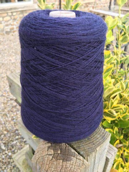 Blue 4 Ply Merino Wool on cone