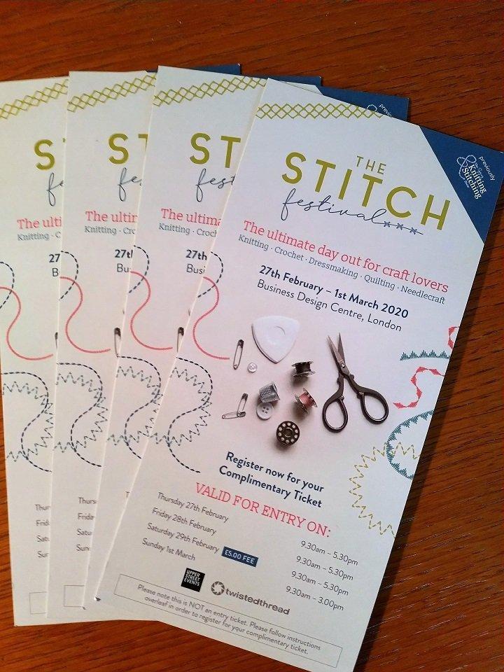 The Stitch Festival 2020 free tickets