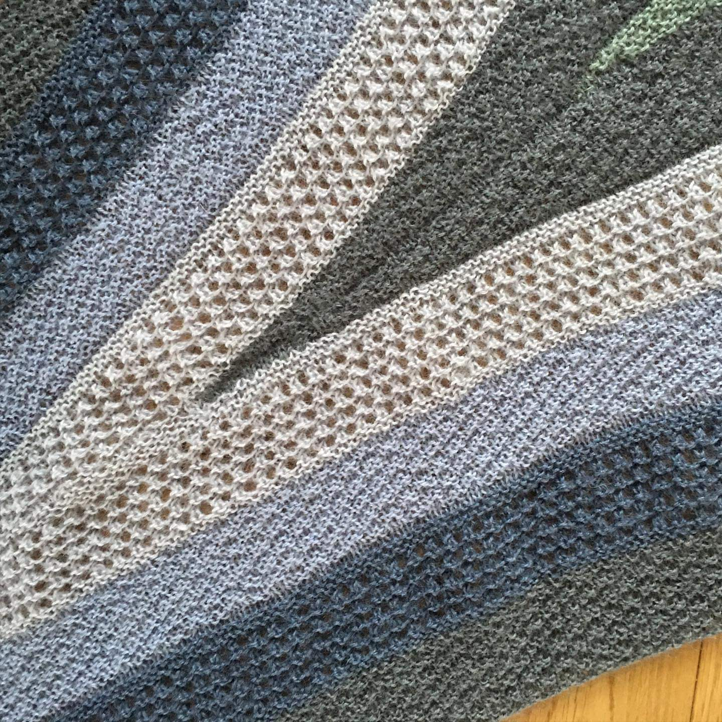 To Hull and Back Shawl