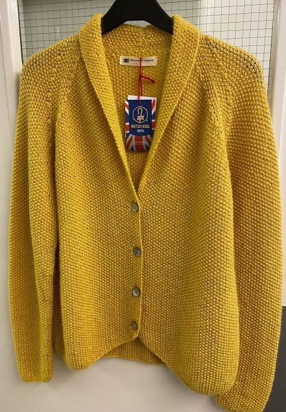 Beryl jacket in Wensleydale Buttertubs yellow