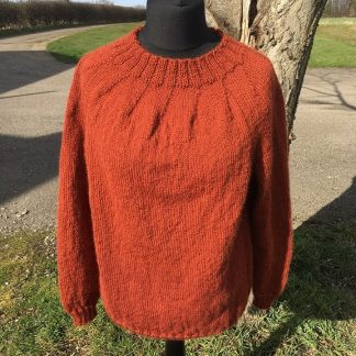 Stanger jumper Plain - Thornton Rust