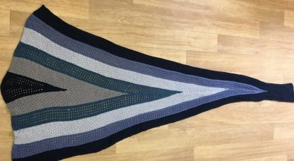 To Hull and Back shawl full image