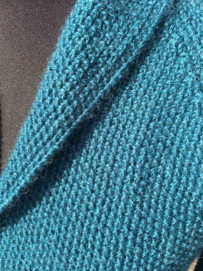 Wensleydale Beryl Jacket Teal - detail