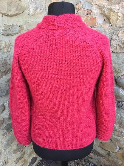 Beryl jacket - Pomegranate back