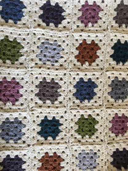 Blanket in Merino and Mohair Roving