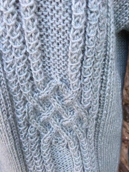 Cross Lanes jumper - Fennel detail