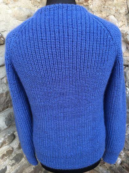 Fishermans Rib sweater - Denim back
