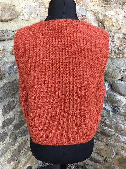 Gents waistcoat - Thornton Rust back