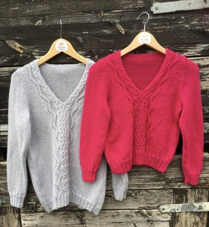 Hope jumpers - long and cropped