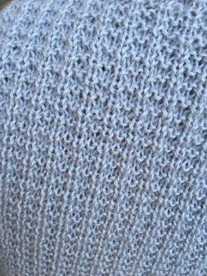 Metcalfe waistcoat - Mizzle detail