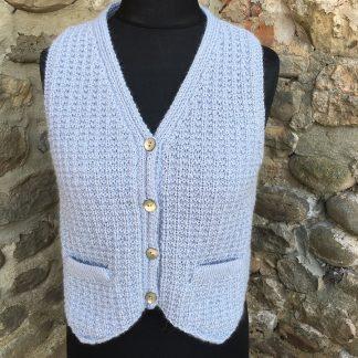 Metcalfe waistcoat - Mizzle front