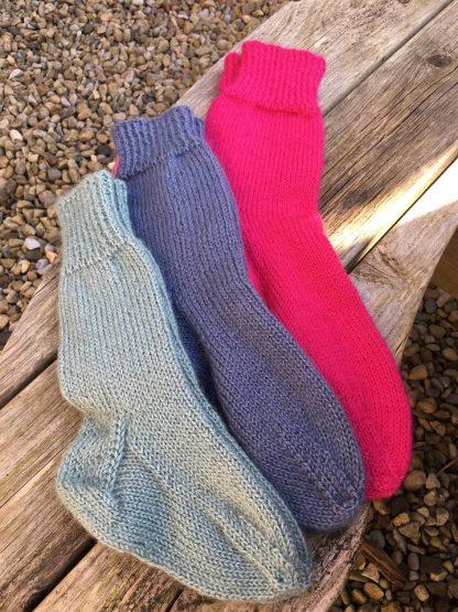 Wensleydale Iveson socks - group photo