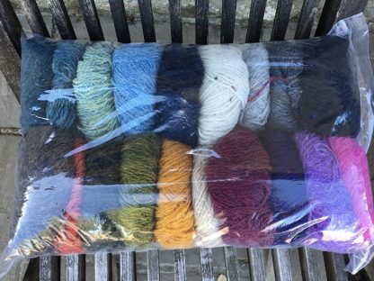 Scottish Tweed 4ply in scrappy bag