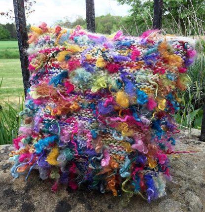 Wensleydale Dyed Fleece Cushion