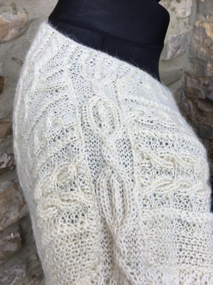 Aldwark jumper - Pattern detail 3