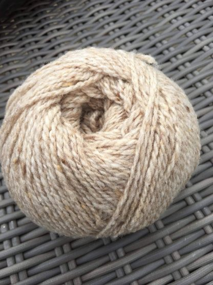 Scottish Tweed Aran - Oatmeal