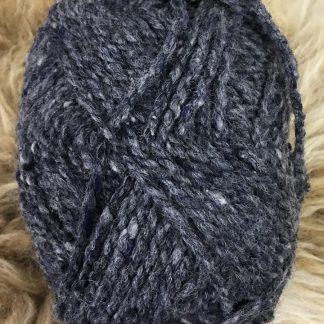 Scottish Tweed Aran - dark grey