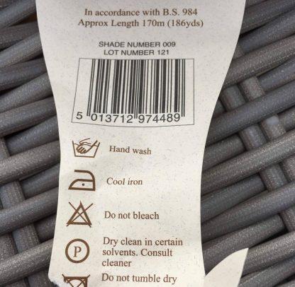 Scottish Tweed Aran label detail 2