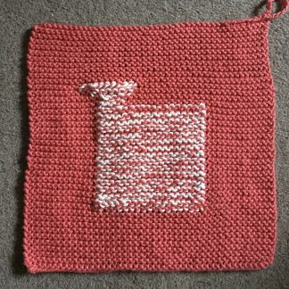 Wensleydale Sheep Dishcloth kit