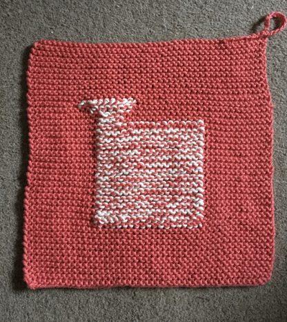 Wensleydale Sheep Dishcloth kit