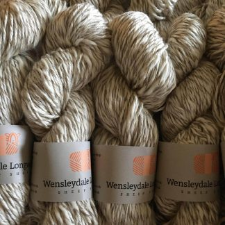 Cotton DK yarn in Natural Marl skeins
