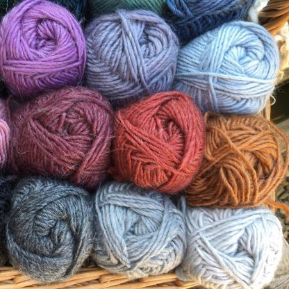 Roving Merino-Mohair wool colours 2