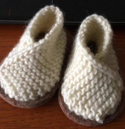 Baby Wrapover Bootees