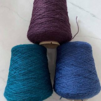 4 Ply British Wool on Cones in various colours