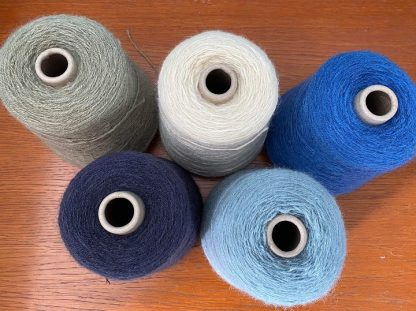 4-Ply British Wool on cones - various colours