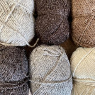 Mixed Bag of Chunky British Wool 500g