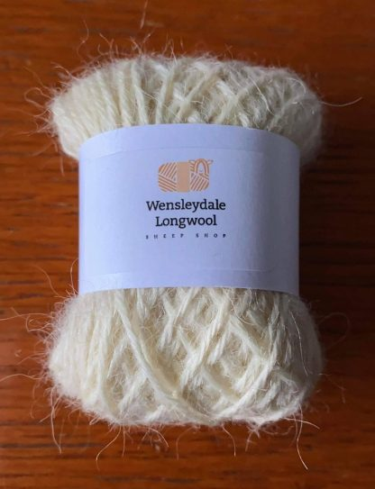Wensleydale Longwool DK Mini ball in Natural