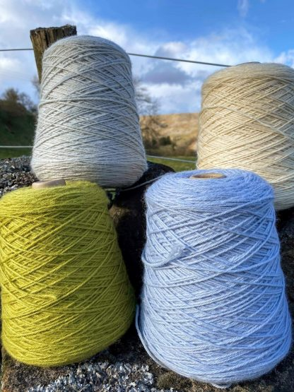 Pure British DK Wool on cones by Yorkshire Dales Wool Company