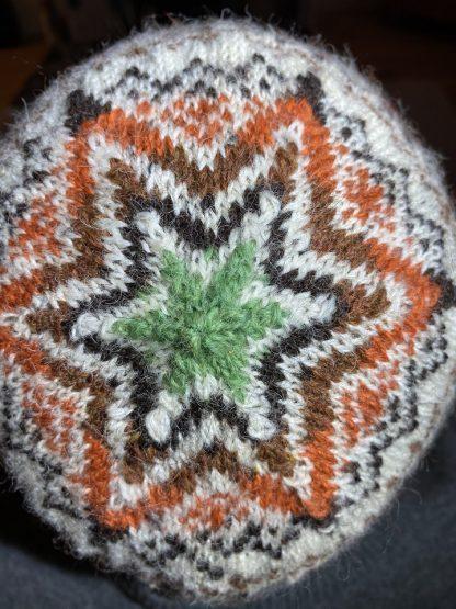 Sheep Shop Tweed hat top