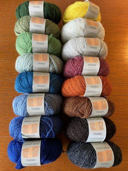 Sheep Shop Tweed selection 1