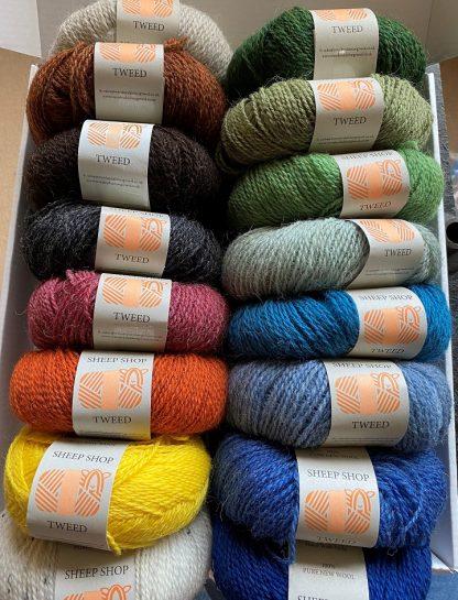 Sheep Shop Tweed selection 2