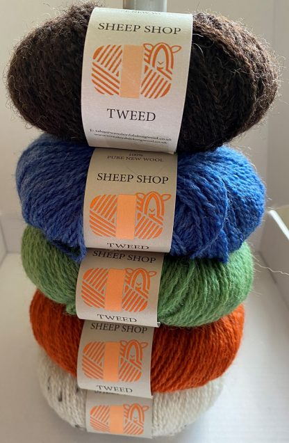 Sheep Shop Tweed selection 3